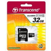 【トランセンド】【microSDHC 32GB】TS32GUSDHC4【Class4】【アダプタ付】