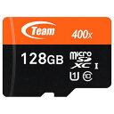 【チーム(Team)】【microSDXC 128GB】TUSDX128GUHS03【Class10】【UHS1】