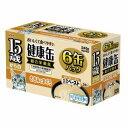 【アイシア AIXIA】アイシア AIXIA 15歳からの健康缶6P とろとろペースト ささみとまぐろ 40g×6缶