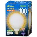 【オーム電機 OHM】オーム電機 LED電球 ボール形 E26 100形相当 全方向 電球色 06-3603 LDG11
