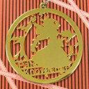 【いそため】レーザカットキーホルダー パチュリー・ノーレッジ ( ライトゴールド )