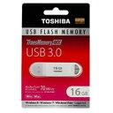 【TOSHIBA海外パッケージ】【USB3.0メモリー 16GB】V3SZK-016G-WH