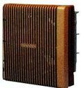 【高須産業】居間用換気扇20cm 吸排気 TS-200DX B(ブラウン)