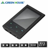 グリーンハウス GreenHouse プレーヤー ブラック