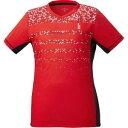 【ゴーセン GOSEN】ゴーセン レディース ゲームシャツ レッド 27 LLサイズ T2045 GOSEN