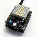 【サンハヤト Sunhayato】Arduino用ドットマトリクスLED&マイクシールドキット AS-E403