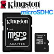 【Kingston】【microSDHC 4GB】SDC10/4GB【Class10】