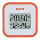 【タニタ】デジタル温湿度計 TT-558-OR(オレンジ)