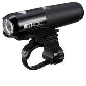 【キャットアイ CATEYE】VOLT400 充電式ライト ブラック HL-EL461RC