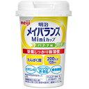 【明治 meiji】メイバランスMiniカップ バナナ味 125ml