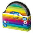 【三菱 Verbatim】DHR85HP10SV1 (DVD-R DL 8倍速10枚)