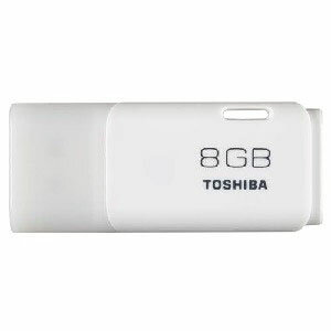 【TOSHIBA海外パッケージ】【USBメモリー 8GB】THN-U202W0080A4