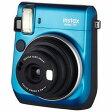送料無料!!【富士フィルム(FUJIFILM)】インスタントカメラ チェキ instax mini70 ブルー INS MINI 70 BLUE【smtb-u】