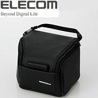 【エレコム(ELECOM)】コンパクトデジタル一眼レフカメラケース ZSB-SDG011BK(ブラック)