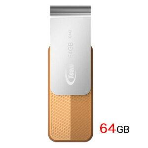 【メール便 送料250円 対応商品】【チーム(Team)】【USBメモリー 64GB】TC14264GN01