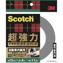 【3M スリーエム】スコッチ 超強力両面テープ プレミアゴールド自動車内装用 15mm×4m SCR-15