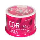 【HI DISC ハイディスク】VVDCR80GP50 CD-R CDR 700MB データ用 50枚