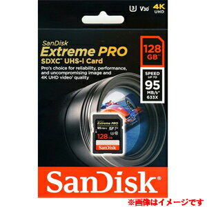 【サンディスク SanDisk 海外パッケージ】【SDXC 128GB】SDSDXXG-128G-GN4IN【UHS-I U3】【class10】