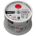 【ハイディスク HI DISC】【期間限定特価】TYDR47JNP50SPMG DVD-R DVDRデータ用 16倍速50枚 TYコード(太陽誘電の品質)