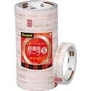 【スリーエム 3M】スコッチ 超透明テープS 18mm×35m 10巻入シュリンクパック BK-18N
