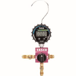 【タスコ TASCO】ボールバルブ式デジタルシングルマニホールドキット TA123DVG-1:あきばお~支店 空気清浄機 カー 納期:【取寄品 オーディオ 出荷:8/18以降 約3-5日】