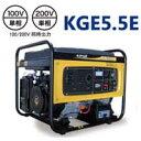 送料無料!!【パワーテック POWERTECH】発電機(60Hz) KIPORオープン型ガソリンエンジン発電機シリーズ KGE5.5E 【代引き不可】【smtb-u】