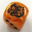 【幻想骰子】東方ダイス 橙(デザイン:粗茶)
