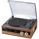 【オーム電機 OHM】Audio Commレコードプレーヤーシステム 品番 07-5754 RDP-B200N