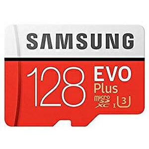 【メール便を選ぶと 送料250円!】【サムスン SAMSUNG】【microSDXC 128GB】【UHS-I U3】【Class10】アダプタ付 MB-MC128GA EVO+シリーズ
