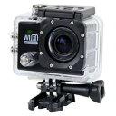 【パイナップル】FullHD 1080p WiFi 防水スポーツアクションカメラ miniHDMI搭...