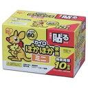 【アイリスオーヤマ IRIS】カイロ ぽかぽか家族 貼るタイ...