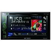 【パイオニア(Pioneer)】6.2V型ワイドモニター/DVD/USB/メインユニット FH-6100DVD