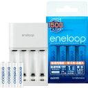 送料区分:小【サンヨー(SANYO)】エネループ(eneloop・急速充電器)単4eneloop4本セット N-TGR0104AS