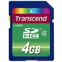 【トランセンド Transcend】トランセンド SDHC 4GB TS4GSDHC4 Class4 SDカード