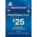 PlayStation Network Card 25Pou...