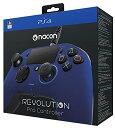 【送料無料】Nacon Gaming Revolution Pro Controller Sony Official Licensed PS4 - ナコン ゲーミング レボリューション プロ コントローラー ソニー オフィシャル ライセンス PS4 ブルー Blue