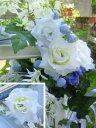 ウェルカムボード用 オプション装飾花 Aタイプ 白バラ white rose/他 ウェディング