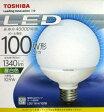 ショッピングLED 東芝 LED電球(ボール形・口金E26・ボール電球100W相当)     LDG11N-H/100W [昼白色]