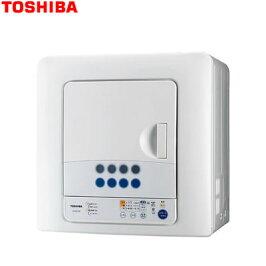TOSHIBA(東芝)衣類乾燥機ED-60C(W)ピュアホワイト乾燥容量6kgED60CW