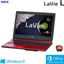 NEC ノートパソコン LaVie L LL750/RS 15.6型ワイド PC-LL750RSR クリスタルレッド 2014年春モデル【送料無料】