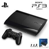 【新品】PlayStation3 500GB チャコール・ブラック CECH-4300C ソニー PS3本体 【送料無料】【KK9N0D18P】
