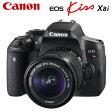 キヤノン デジタル一眼レフカメラ EOS Kiss X8i EF-S18-55 IS STM レンズキット EOSKiss-X8i-18-55LK 【送料無料】【KK9N0D18P】