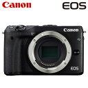 キヤノン ミラーレスカメラ EOS M3 ボディ EOSM3-BODY-BK ブラック 【送料無料】【KK9N0D18P】
