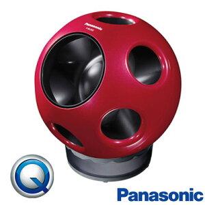 パナソニック 創風機 Q 扇風機 サーキュレーター DCモーター F-BL25Z-R クリスタルレッド 【送料無料】【KK9N0D18P】