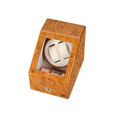 エスプリマ 自動巻き時計用ワインダー ローテンシュラガー LUHW 木製2連ワインディングマシーン LU20001RW ライトウッド 【送料無料】【KK9N0D18P】 送料無料・き手数料無料