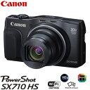 キヤノン デジタルカメラ パワーショット PowerShot SX710 HS BK ブラック PSSX710HS-BK 【送料無料】【KK9N0D18P】