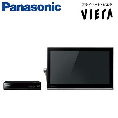 パナソニック 15V型 ポータブル液晶テレビ プライベート・ビエラ 防水タイプ 500GB HDD内蔵 UN-15T5-K ブラック 【送料無料】【KK9N0D18P】