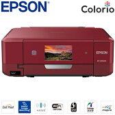 エプソン カラリオ A4インクジェットプリンター Colorio 多機能モデル EP-808AR レッド 【送料無料】【KK9N0D18P】