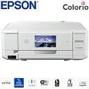 エプソン カラリオ A4インクジェットプリンター Colorio 多機能モデル EP-808AW ホワイト 【送料無料】【KK9N0D18P】