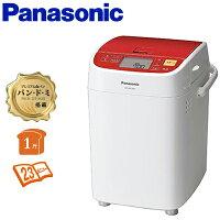 パナソニック 1斤タイプ ホームベーカリー SD-BH1001-R レッド 【送料無料】【KK9N0D18P】